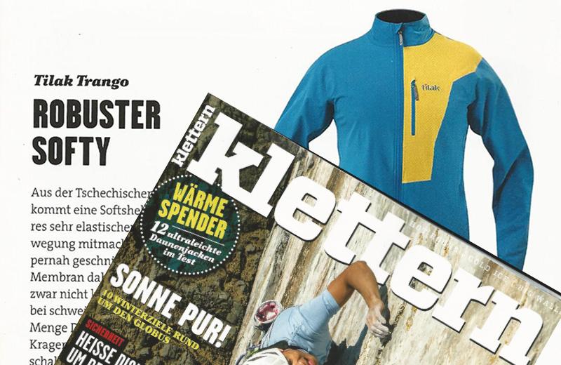 klettern Magazin: Tilak TRANGO – robuster Softy