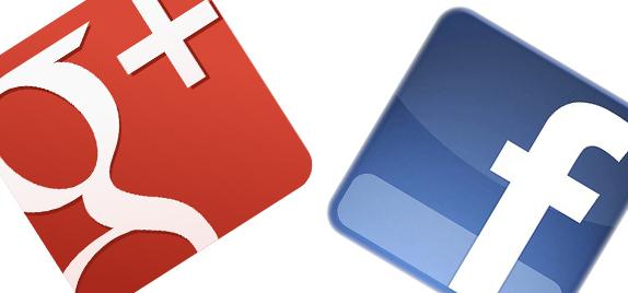Neue Seiten bei Facebook & Google+