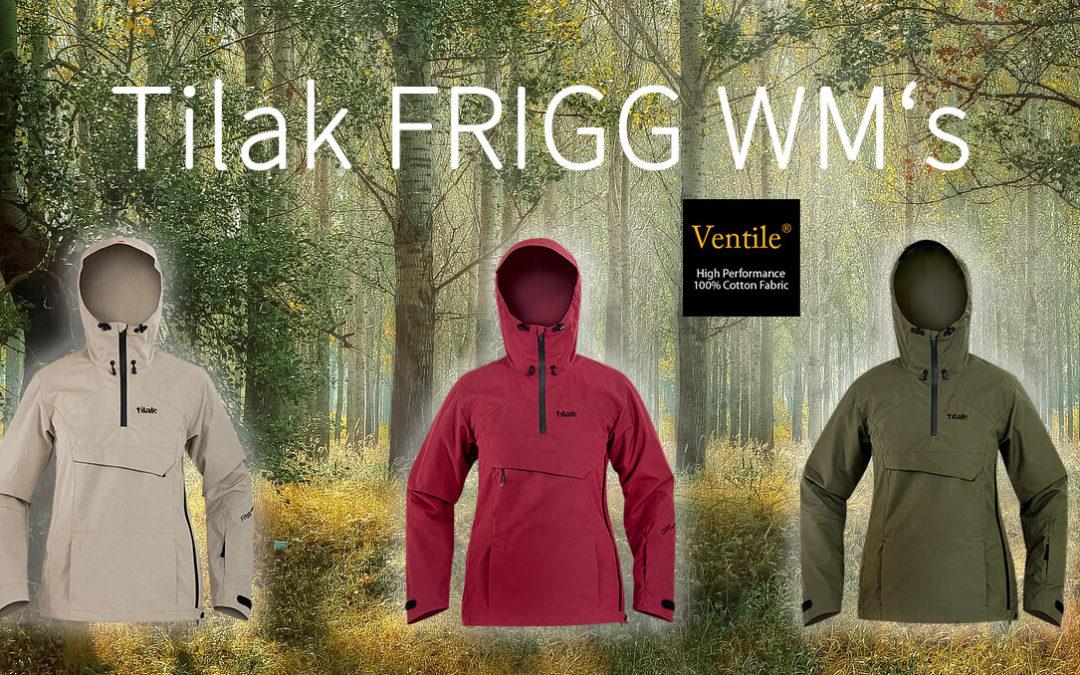 NEU: die Tilak Ventile® Baumwoll-Jacken für Damen FRIGG WM'S